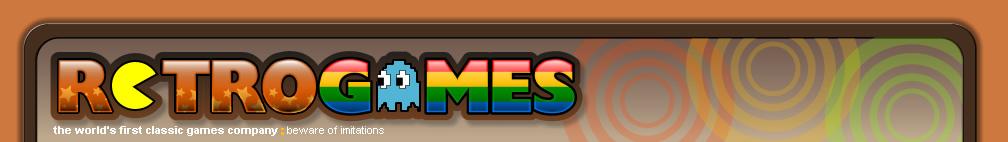 Retrogames - Site Map