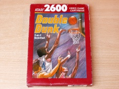 Double Dunk by Atari - Brown Box