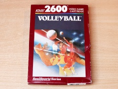 Realsports Volleyball by Atari - Brown Box