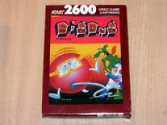 Dig Dug by Atari - Brown Box