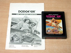 Dodge 'Em by Atari - Picture Label