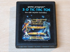 3D Tic Tac Toe by Atari - Picture Label
