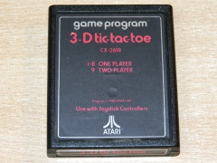 3D Tic Tac Toe by Atari - Text Label