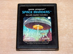 Space Invaders by Atari - Picture Label