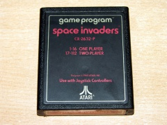 Space Invaders by Atari - Text Label