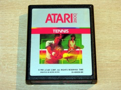 Realsports Tennis by Atari - Silver Label