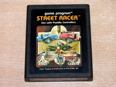Street Racer by Atari - Picture Label