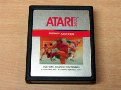 Realsports Soccer by Atari - Silver Label