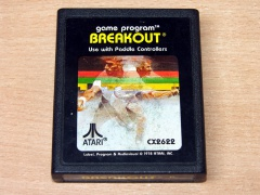 Breakout by Atari - Picture Label