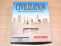 Sid Meier's Civilization by Microprose
