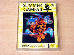 Summer Games 2 by Epyx - Yellow Box