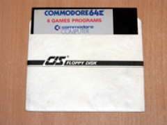 6 Games Programs by Commodore