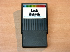 Jack Attack by Commodore - Cartridge