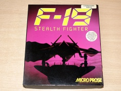 F-19 Stealth Fighter by Microprose