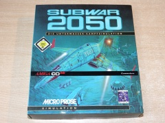 Subwar 2050 by Microprose - German