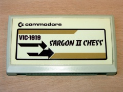 Sargon II Chess by Commodore
