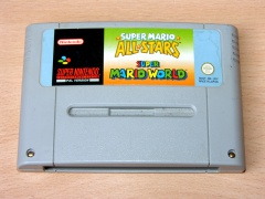 Super Mario Allstars and Super Mario World