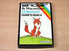 Learn to Read 4 by Sinclair
