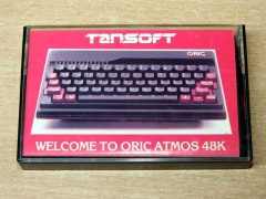 Oric Atmos Welcome Cassette by Tansoft