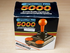 Competition Pro Joystick - Red Shaft - Boxed