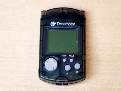 Dreamcast Visual Memory Unit - Clear Grey