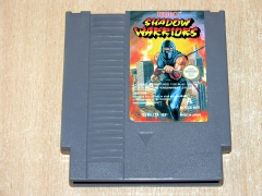Shadow Warriors by Tecmo