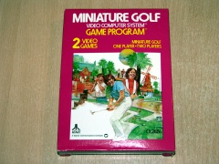 Miniature Golf by Atari *Nr MINT