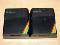 Pair of ZX Microdrives by Sinclair