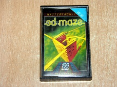 3D Maze by Mastertronic