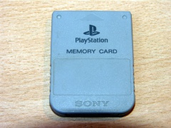 Official Playstation Memory Card