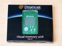 Dreamcast Smoke Grey Visual Memory Unit - Boxed