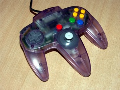 Nintendo 64 Controller - Transparent Purple