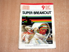 Super Breakout Manual