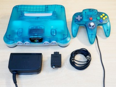 N64 Blue Console + Expansion