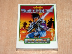 Switchblade II by Gremlin *MINT