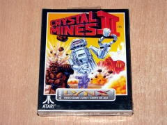 Crystal Mines II by Atari *MINT