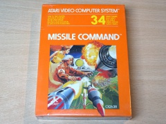 Missile Command by Atari *MINT