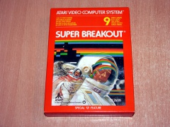 Super Breakout by Atari *MINT