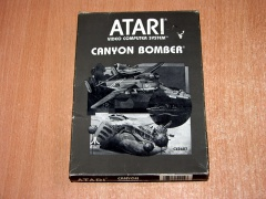Canyon Bomber by Atari