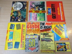 Sinclair User Supplements / Poke Cards