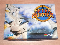 After Burner by Activision + Sticker