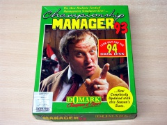 Championship Manager 93 by Domark