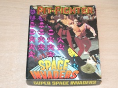 Pit Fighter & Super Space Invaders by Domark