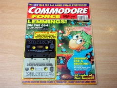 Commodore Force - January 1993 & Cover Tapes
