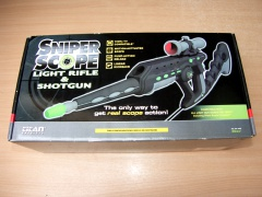 Xbox Sniper Scope Light Gun - Boxed *MINT