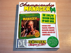 Championship Manager 94 Data Disc by Domark