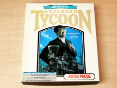 Sid Meier Railroad Tycoon by Microprose *MINT