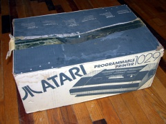 Atari 1029 Programmable Printer - Boxed