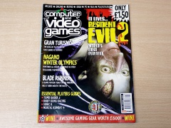 Computer and Video Games - January 1998 + Stickers