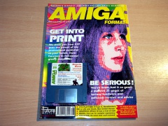Amiga Format - Aug 1991 + Disc